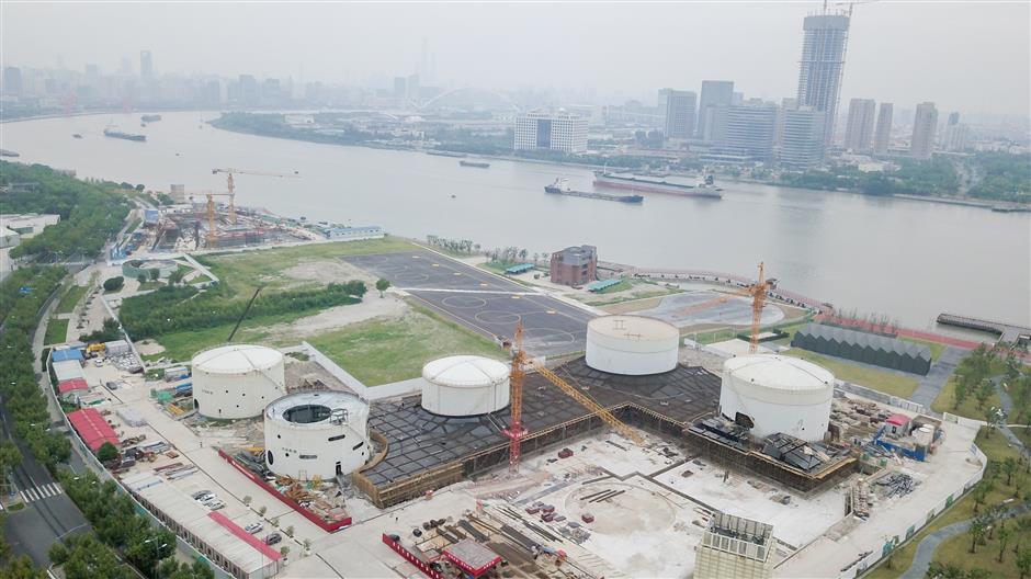 Construction to start on oil tank park
