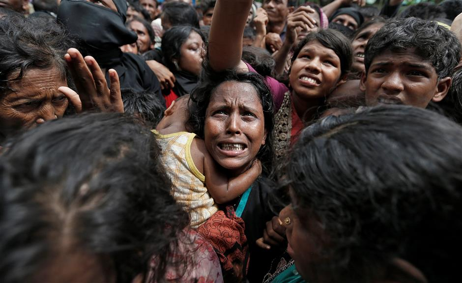Bangladesh aid truck for Rohingya refugees crashes, 9 workers dead