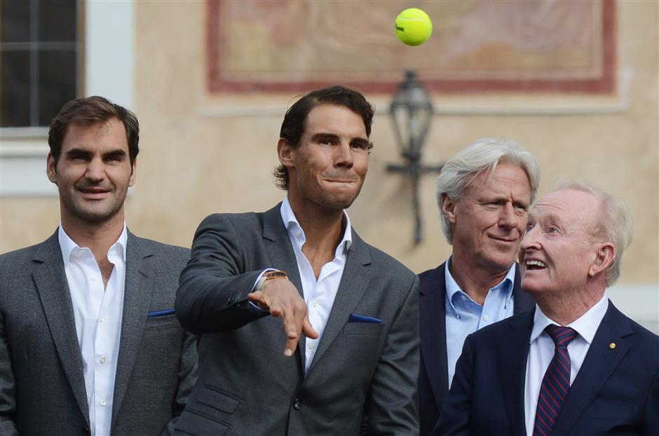 Federer, Nadal relish teaming up at Laver Cup