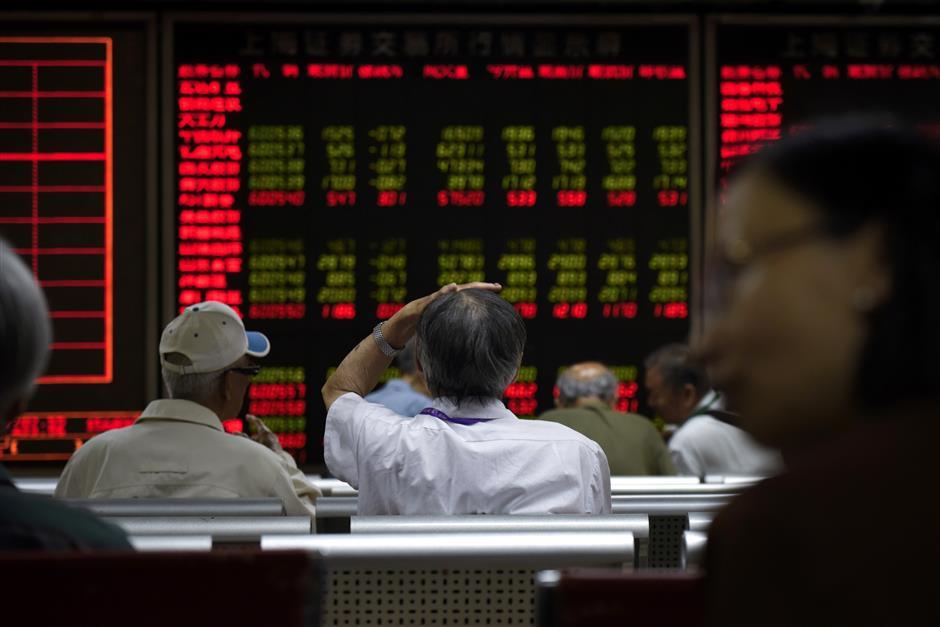 Shanghai shares retreat for the third consecutive week