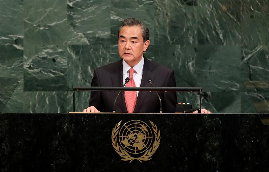 China committed to de-nuclearization of Korean Peninsula: FM