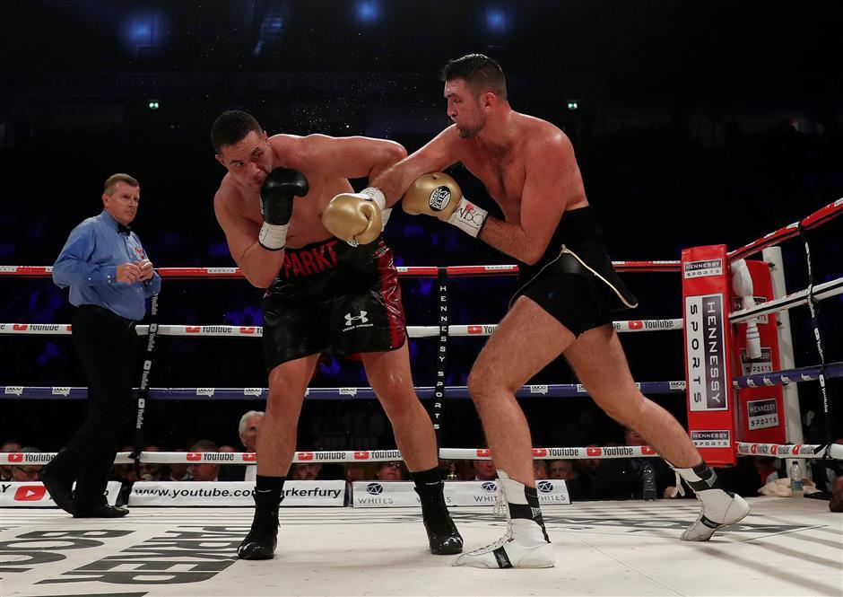 Parker sets sights on Joshua unification bout