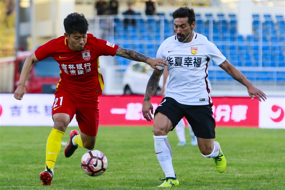 Pellegrini's pitch concerns overshadow Hebei draw in CSL