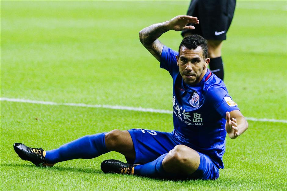 Shenhua insists Tevez has first-team position but needs to work hard