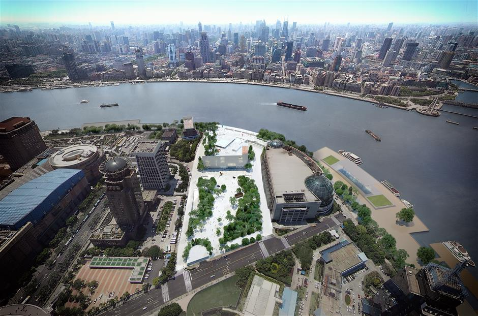 Work starts on new museum in Lujiazui