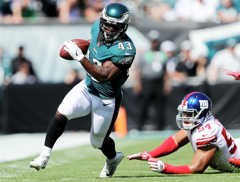 Eagles' Sproles out for season after double injury