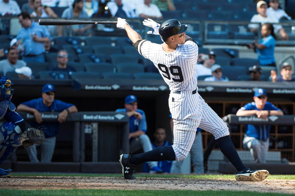 All rise! Judge rules rookie homer record