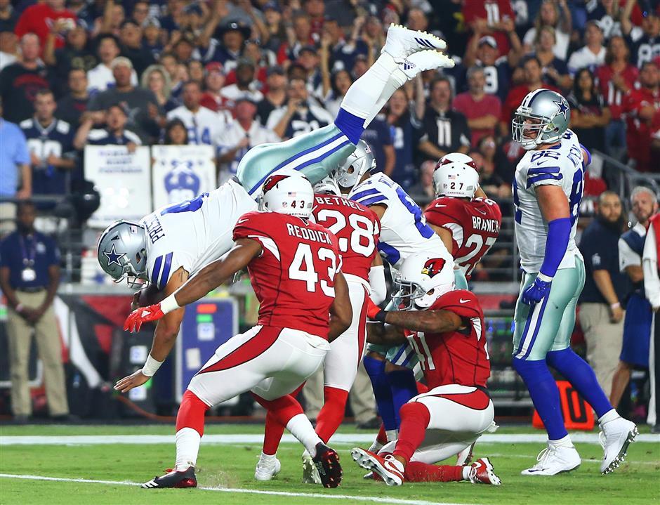Prescott, Cowboys pull away to beat Cardinals