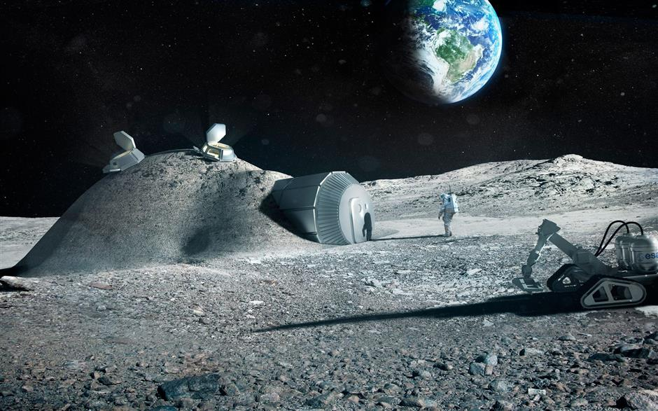 Russian space agency, NASA agree to co-build lunar-orbit space station