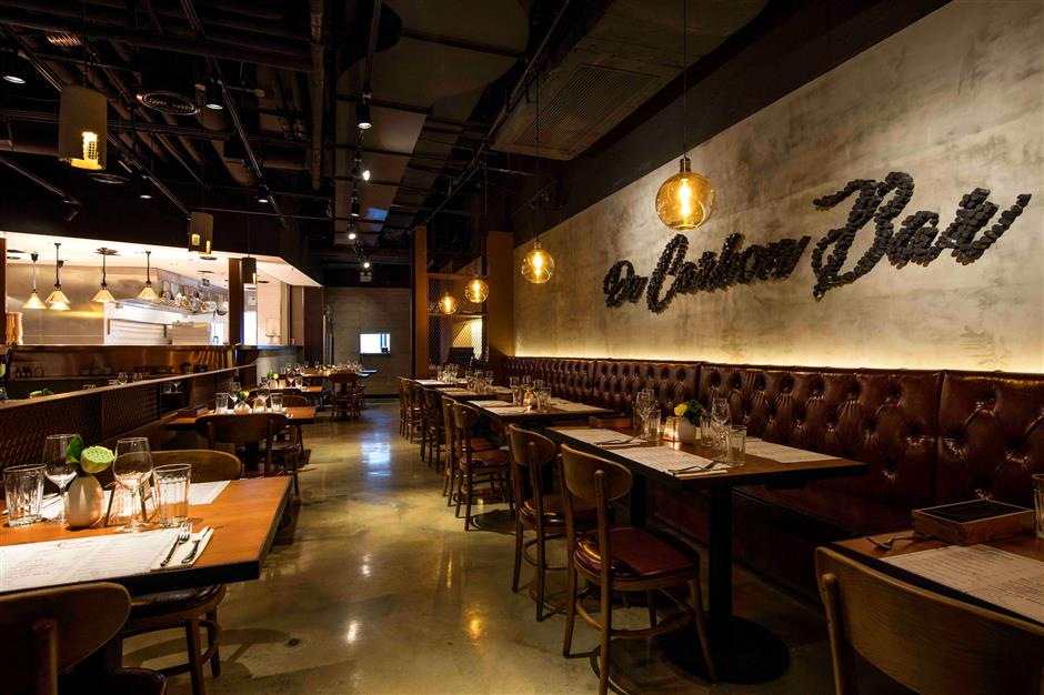 Chic vibe for the city's wine and fusion food lovers