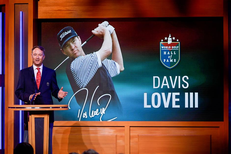 Family affair for Love in Hall of Fame induction