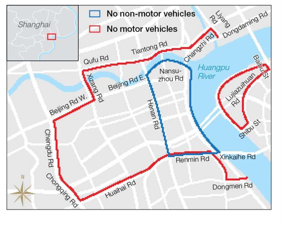 Traffic restrictions during the National Day holiday