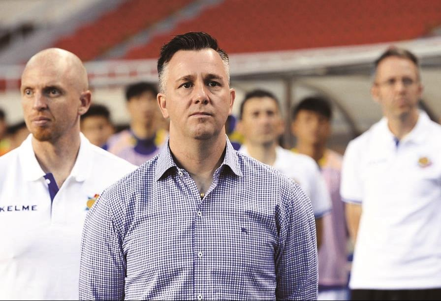 Taiwan aims for soccer miracle with White