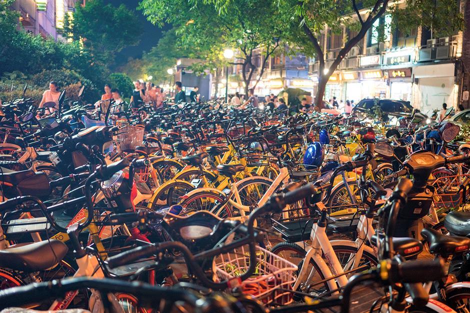 Hangzhou regulate bike sharing service