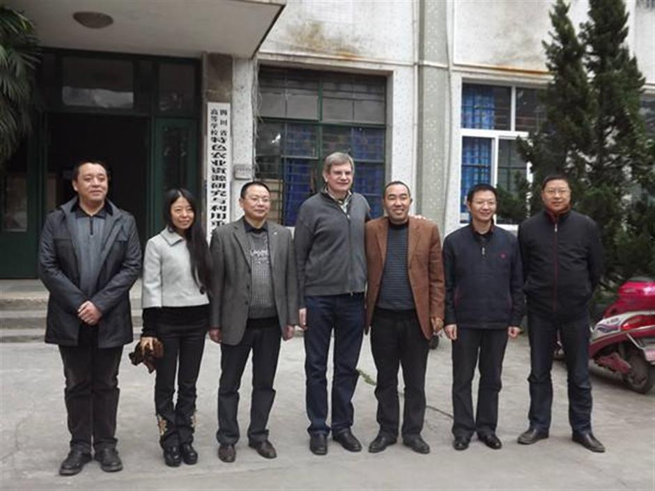 German botanist dedicated life to poverty relief in China