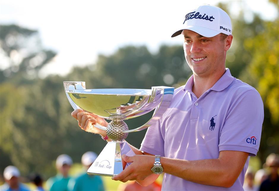 Thomas voted PGA Tour player of the year