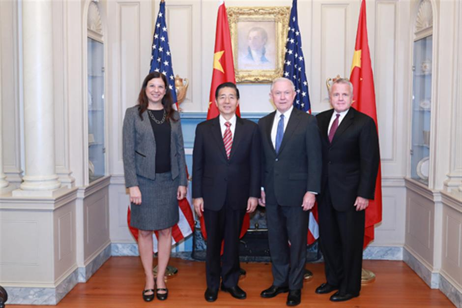 China, US hold first law enforcement and cybersecurity dialogue