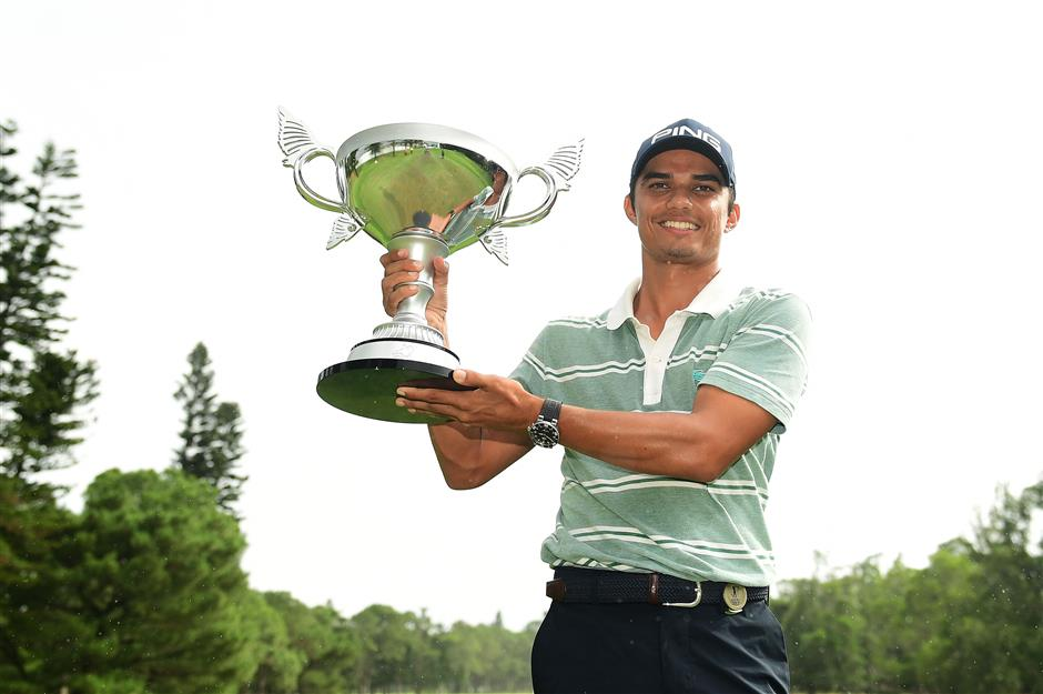 Sandhu takes first Asian Tour win in Taipei