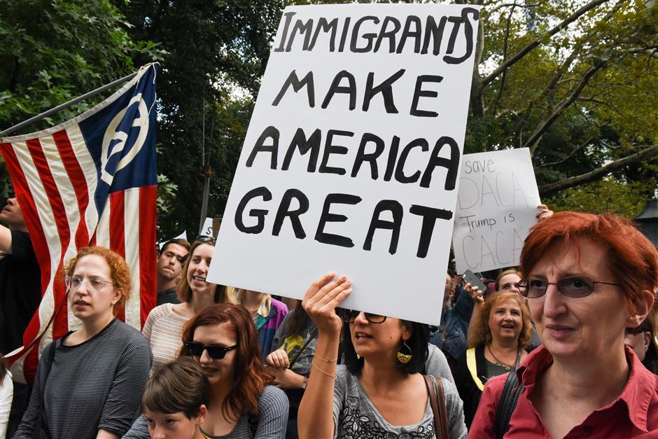 Trump eyes immigration demands in exchange for DACA agreement