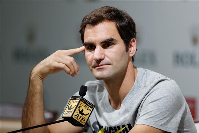 Federer eyes Shanghai Rolex Masters title