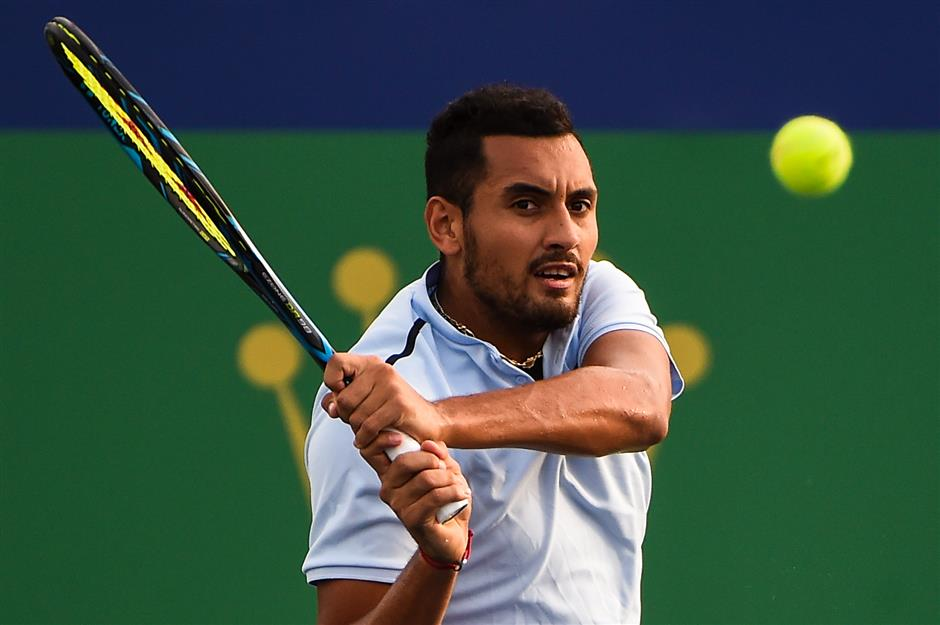 Kyrgios fined US$10,000 for Shanghai walkoff