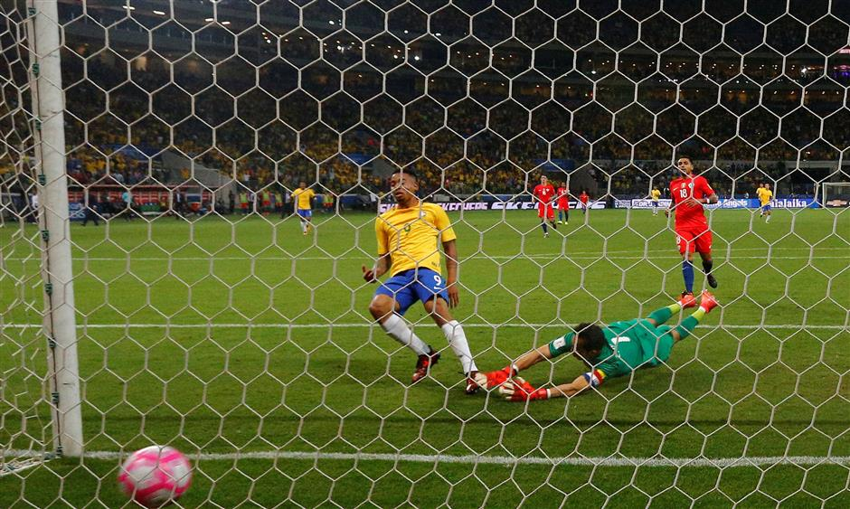 Messi treble fires Argentina to World Cup as Chile exits