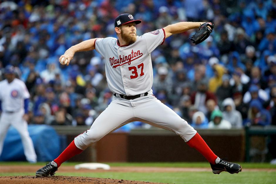 Strasburg, Nationals beat Cubs 5-0, force NLDS to Game 5