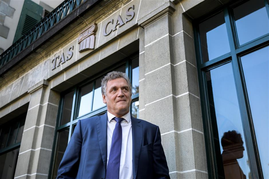 Ex-FIFA official Valcke testifies in ban appeal
