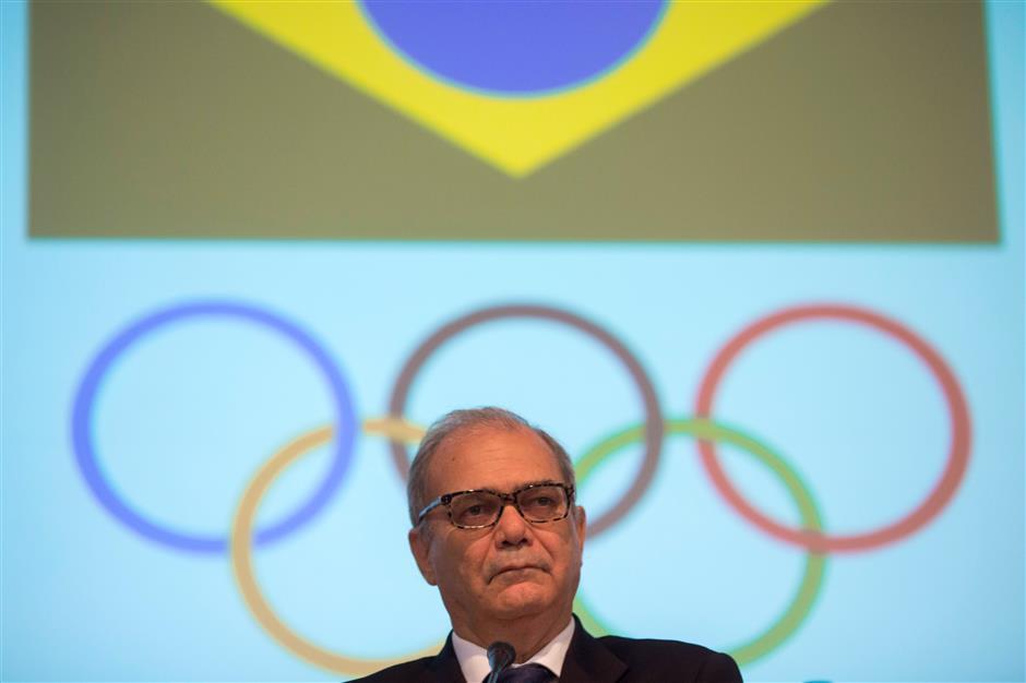 Brazil Olympic leader Nuzman sends resignation letter from jail