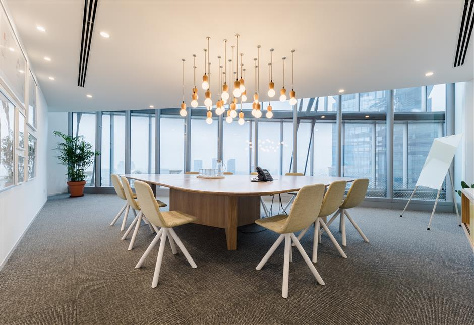 Dutch shared office brand Spaces launches first China space in Shanghai Tower