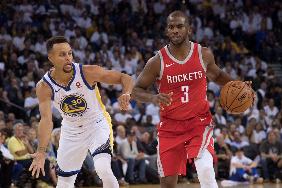 Rockets spoil Warriors' opening night