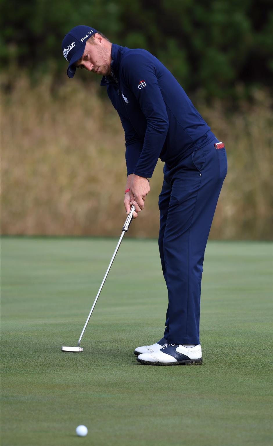 Thomas surges 3 shots clear as PGA Tour makes Korea debut