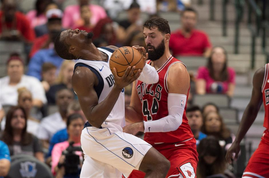 Bulls ban Portis 8 games for injuring Mirotic