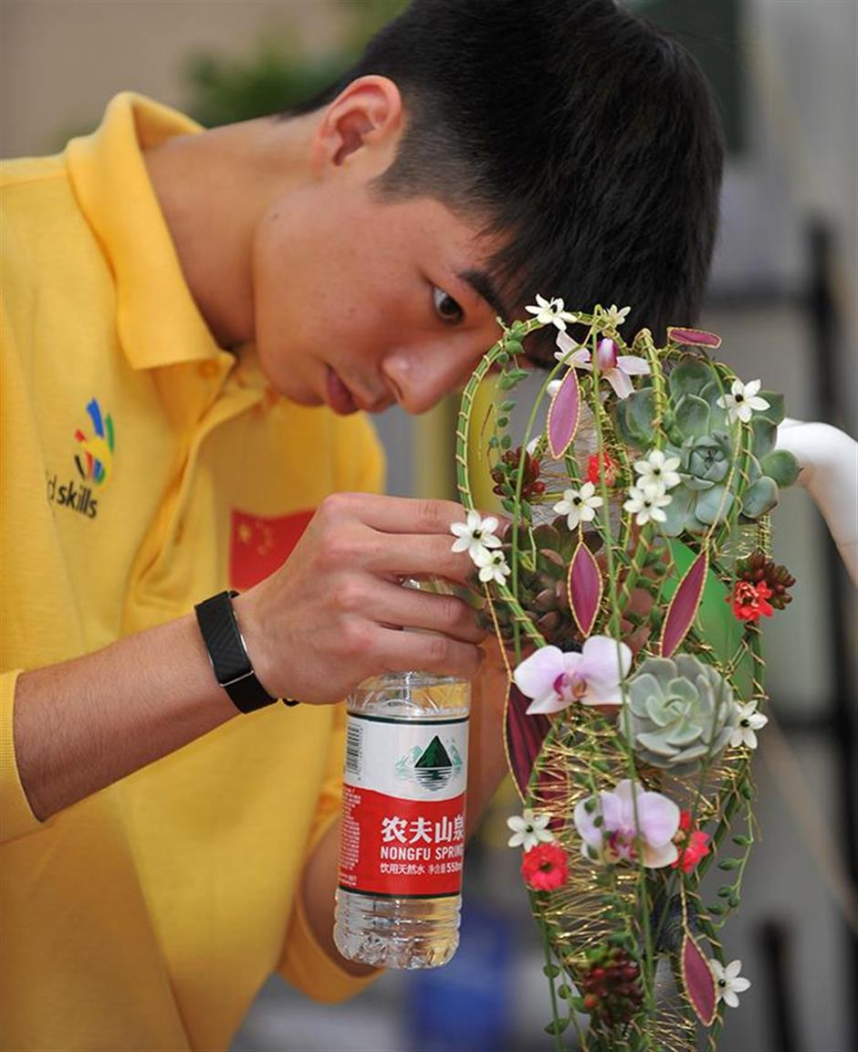 Shanghai brings home two golds from 44th WorldSkills competition