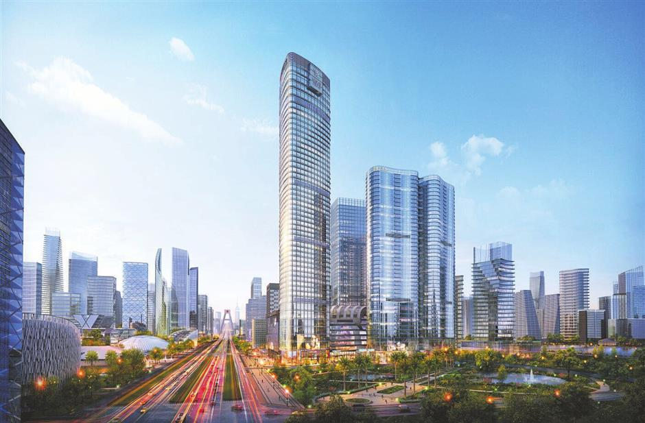 Striving to become China's 'central city'