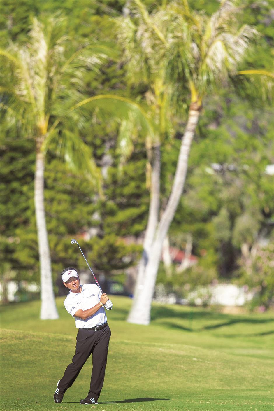SKorean golfers seek change in fortunes