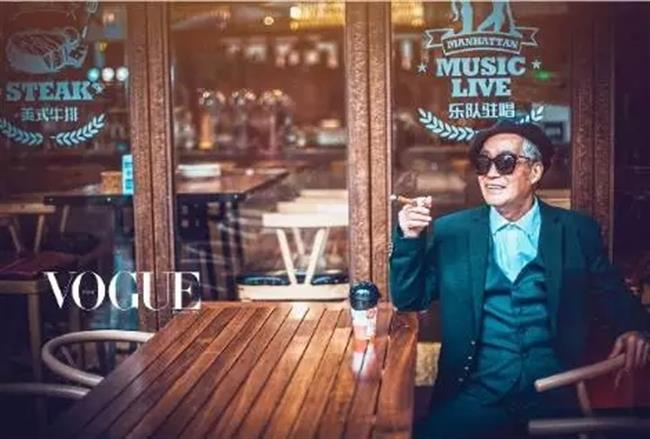 78-year-old man's stylish photoshoot goes viral