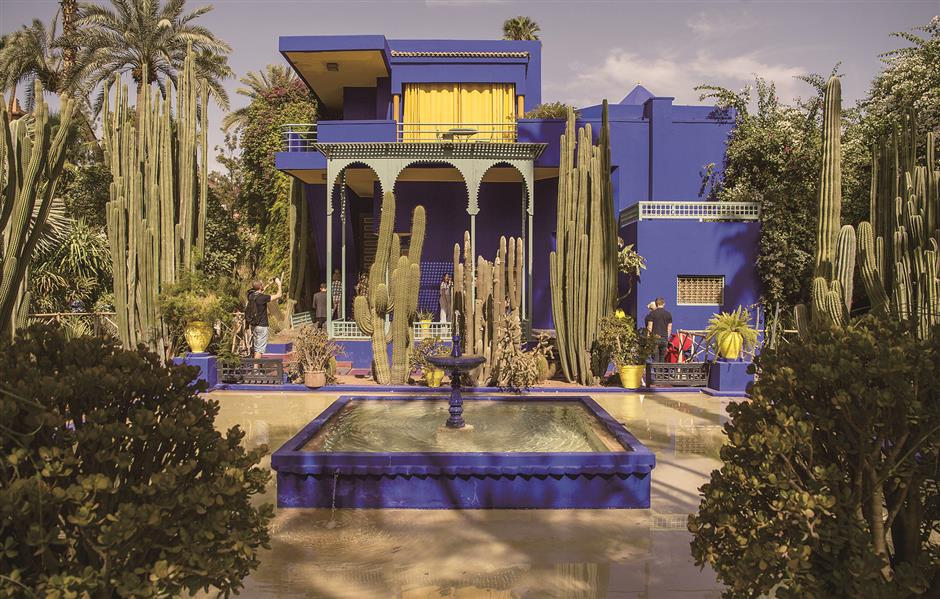 YSL legacy lives on with Marrakesh flair