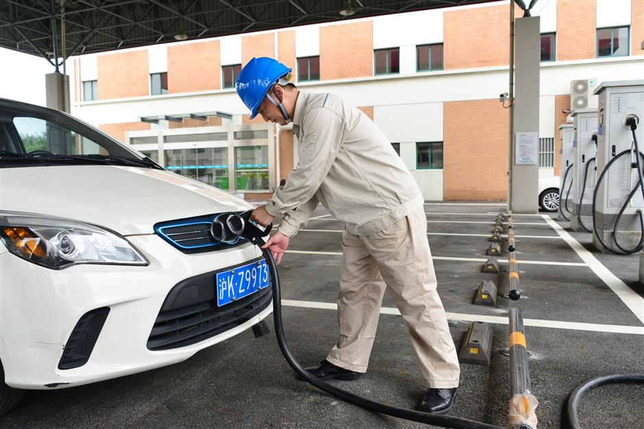 Trial begins for solar powered car charging station