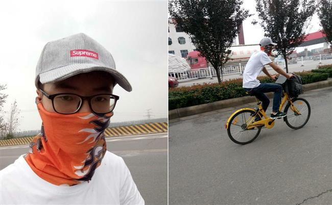 College student cycles 500 kilometers on shared bike