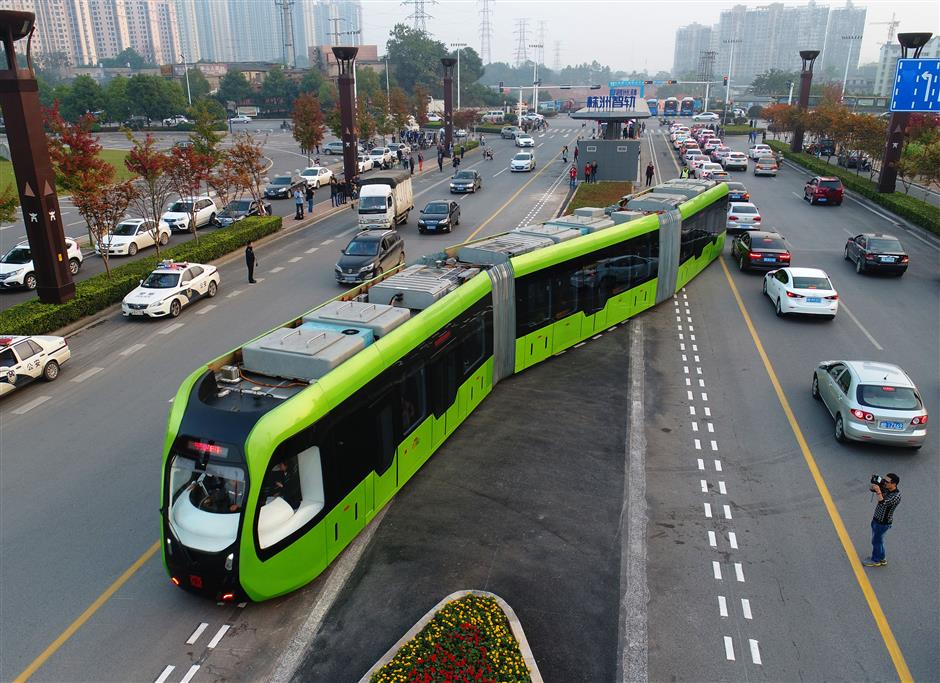 World's first driverless Autonomous Rail Rapid Transit system launches in China