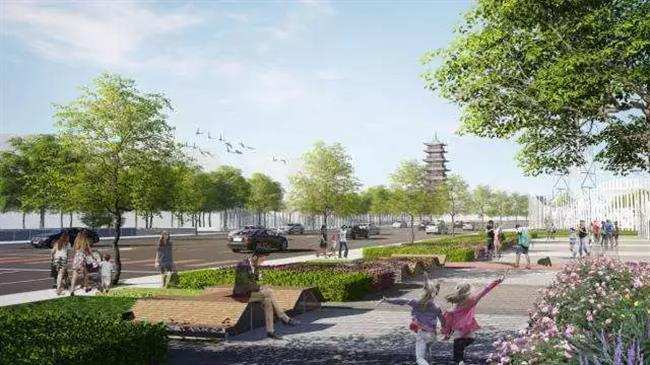 A green belt to be built on popular fish market site