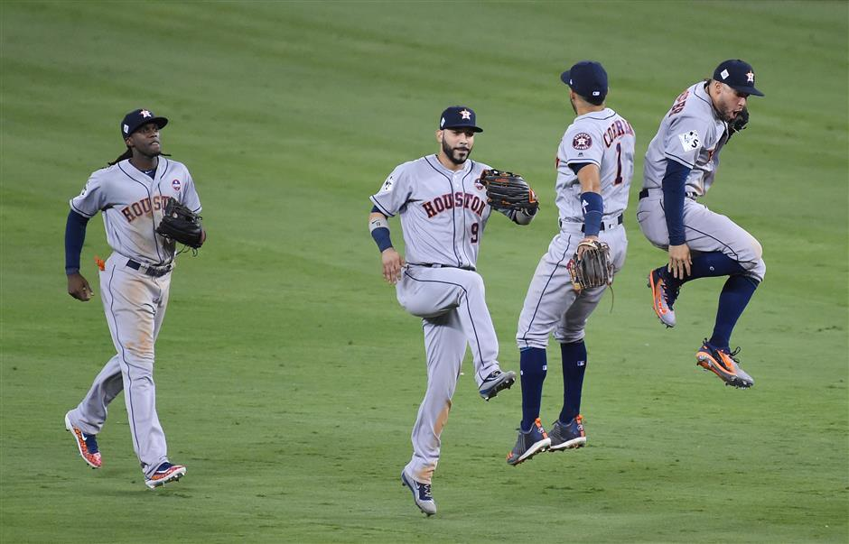 Springer's HR in 11th gives Astros wild win over Dodgers as Series tied