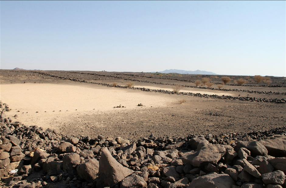 Mystery ancient stone structures found in Saudi desert