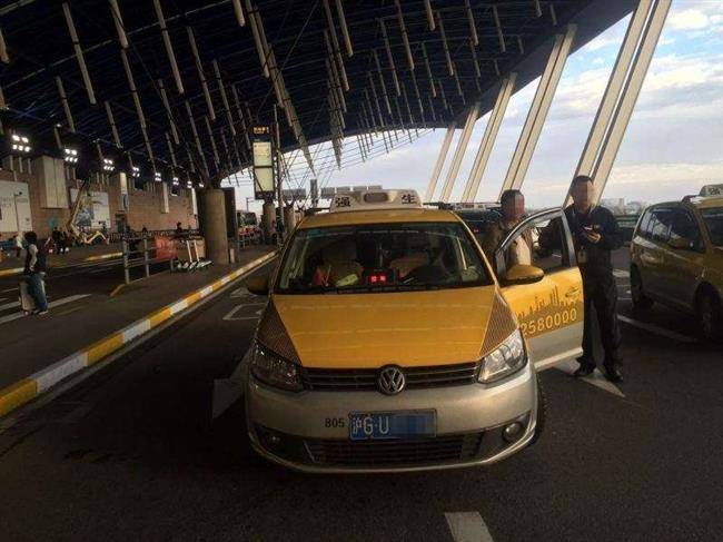 Cheating taxi drivers pick on wrong target