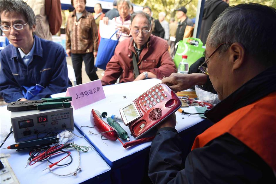 Freeconsultation provided on Chongyang Festival