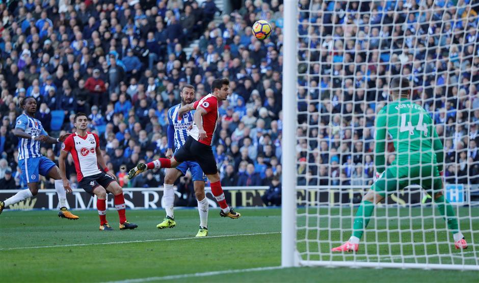 Brighton, Southampton extend unbeaten runs with 1-1 draw