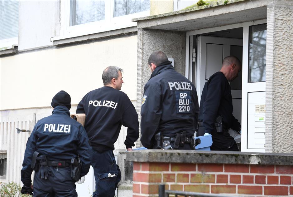 Germany nabs Syrian on bomb plot hunch