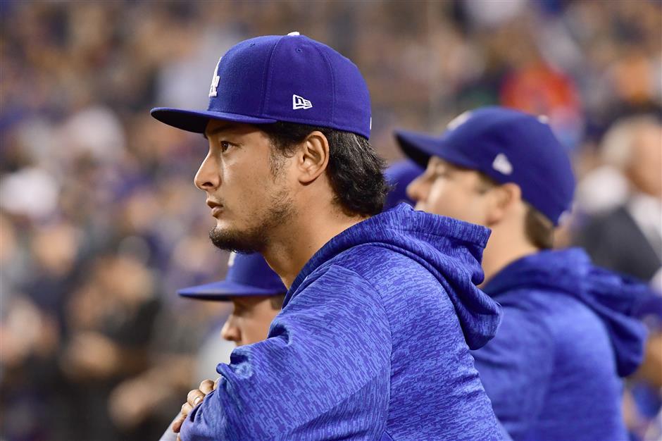 Dodgers' Darvish gets shot at redemption in Game 7