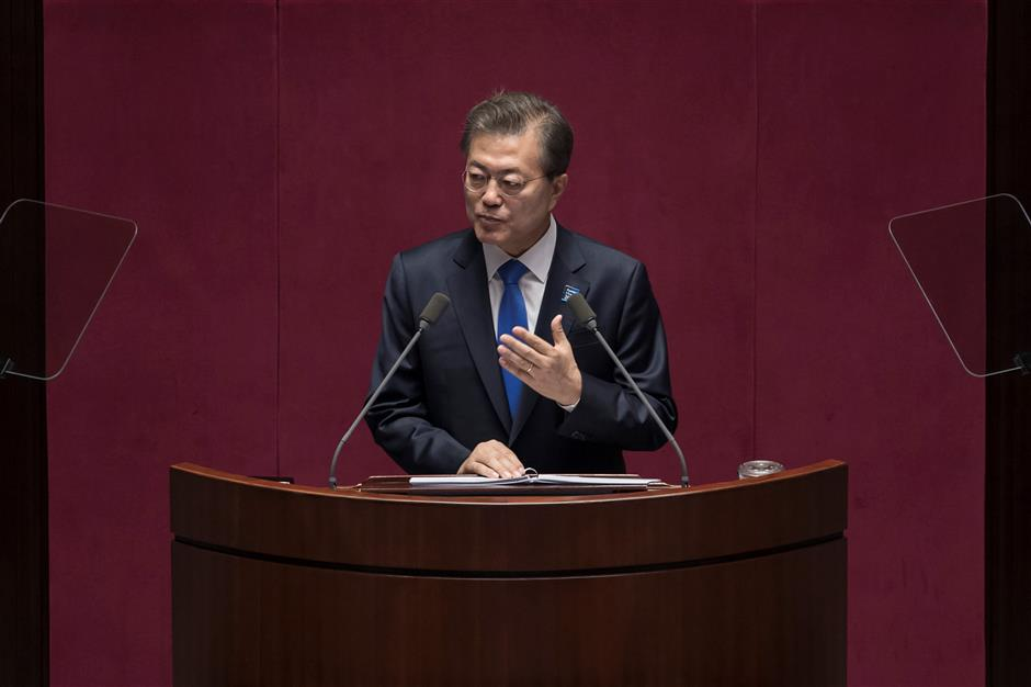 South Korea will not develop nuclear weapons: president